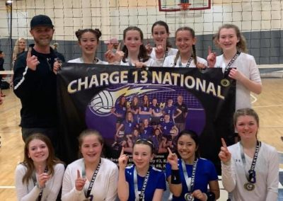 13 National 1st Place Charge UA Tournament