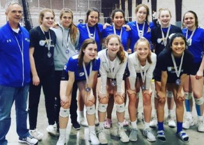 14UA 2nd Place in 15s at Spring Smackdown
