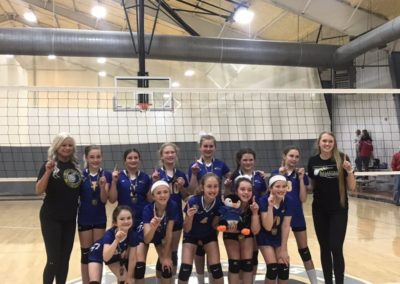 11UA 1st Place Volley in the House