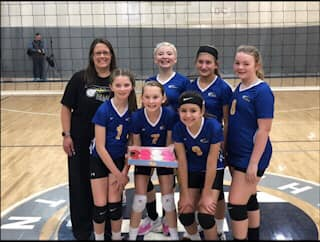 12-American 1st Place Silver Volley in the House