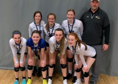 15-Regional 2nd Place Volley in the House