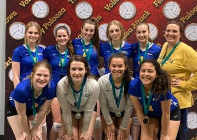 16-American 1st Place Silver at February Fiesta