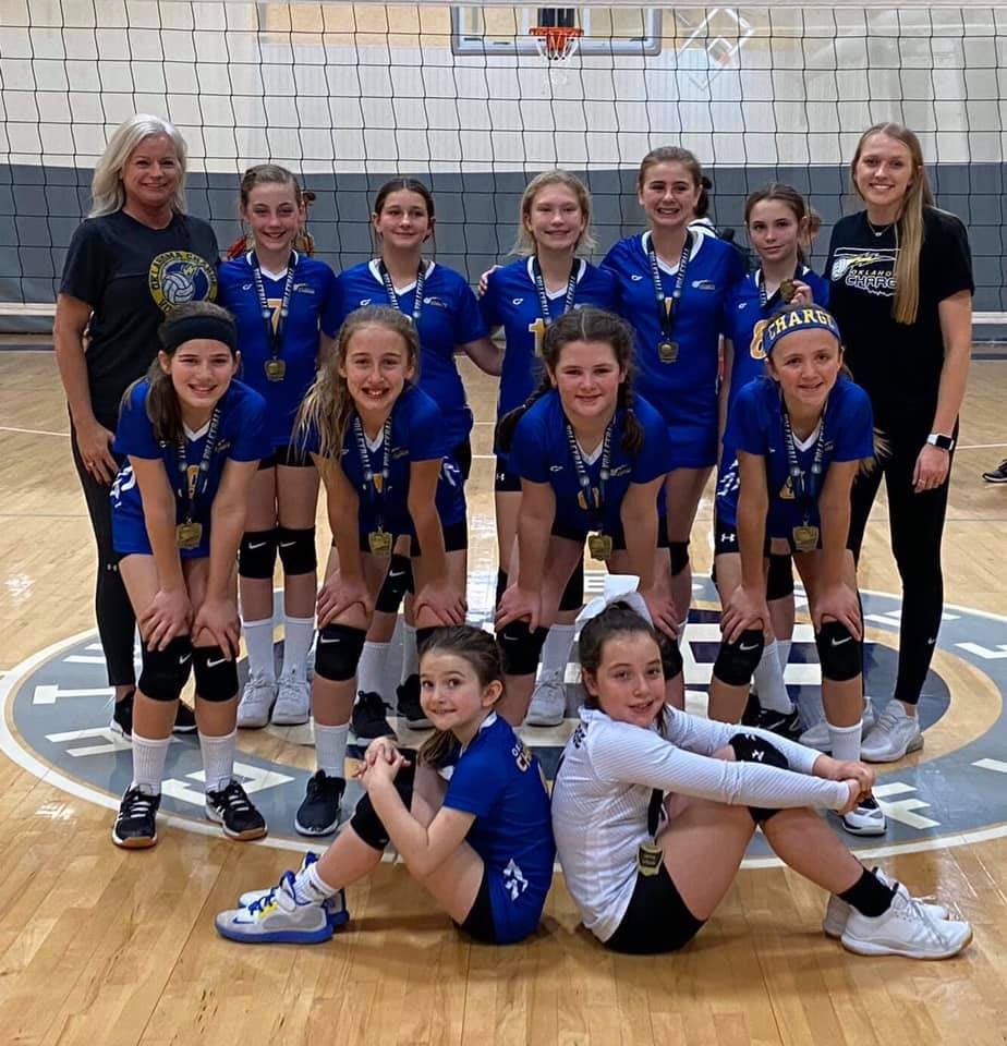 Oklahoma Charge Volleyball Club Charge On