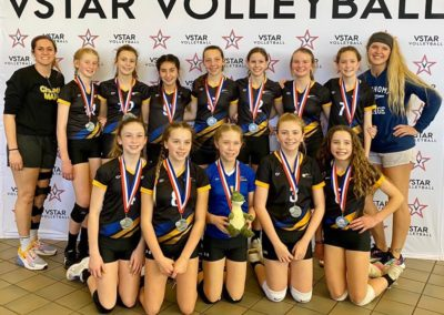 12UA 2nd Place in 13s Age Falls City Festival