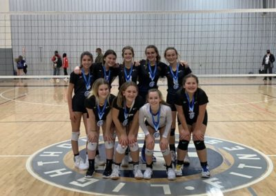 14-1 South 1st Place Volley at the OAC Silver Bracket