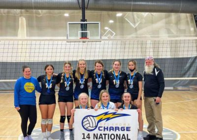 14 National 2nd Place Volley at the OAC Gold Bracket