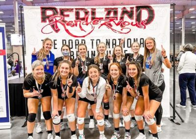 15-1 South Redland 15 Girls Silver Champions