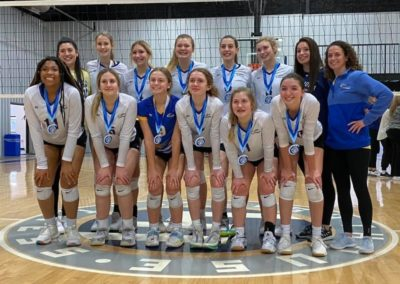 15UA 1st Place Volley at the OAC 17&18s Gold Bracket