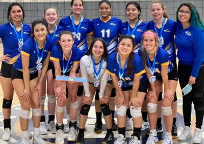 17 PAL 1st Place Volley at the OAC 17&18s Silver Bracket