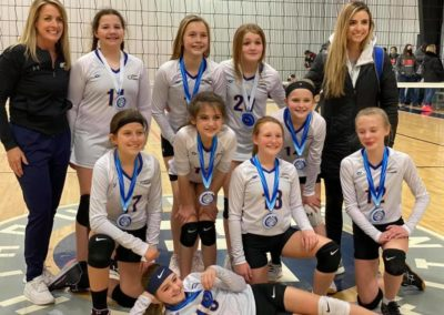 11N 1st Place Silver Volley at the OAC 12s