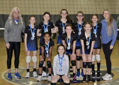 11UA 2nd Place Gold Volley at the OAC 12s