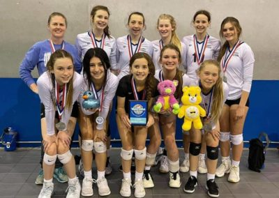 13UA 2nd Place Gold in 14s at Taylor's Gift in North Texas