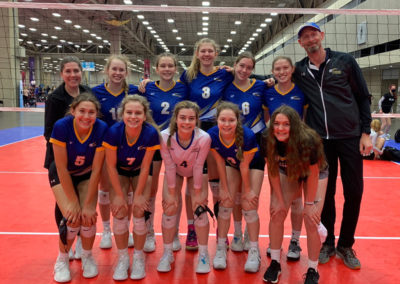 16UA 1st Place Bronze at Lone Star NQ 8-1 overall