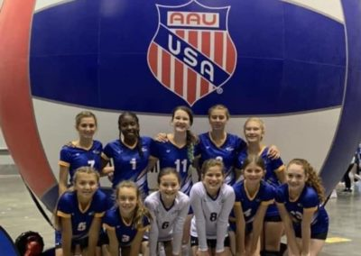 12UA 5th at AAU Nationals