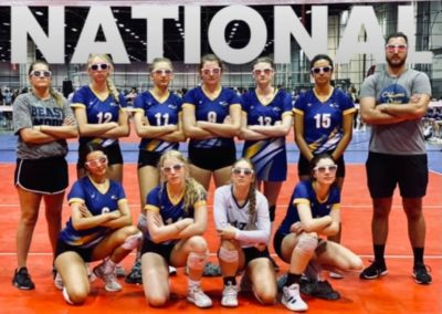 16N 31st out of 136 at AAU Nationals